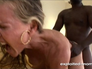 Interracial XXX movies in which MILFs of different races fuck outside their race
